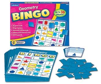 Geometry Bingo from Lakeshore Learning