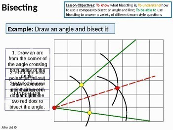 Geometry: Bisecting - a Line Segment and Angle