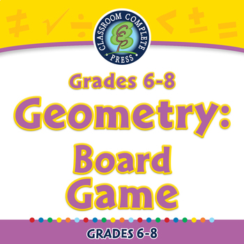 Geometry: Board Game - MAC Gr. 6-8