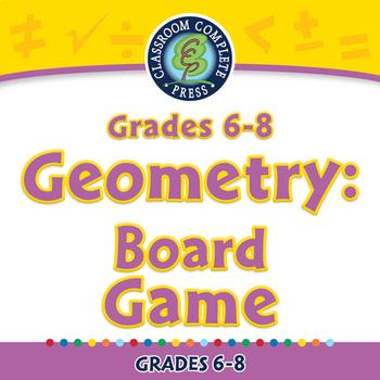 Geometry: Board Game - NOTEBOOK Gr. 6-8