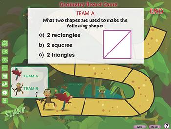 Geometry: Board Game - NOTEBOOK Gr. PK-2