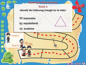 Geometry: Board Game - PC Gr. 3-5