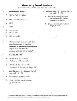 Geometry Board Session 5,SAT,ACT,perimeter,algebra review,