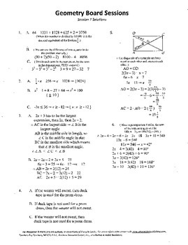 Geometry Board Session 7,SAT,ACT,pentagon,angle work,rectangle diagonals