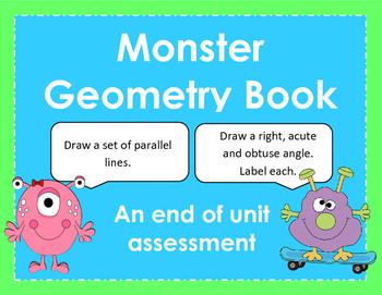 Monster Geometry Book