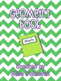 Geometry Book {Printable Booklet}