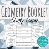 Geometry Booklet Study Guide