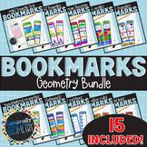Geometry Bookmarks Bundle: 15 Resource Tools!