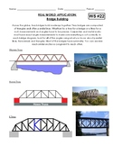 Geometry - Bridge Building Real World Application of Angle Relationships