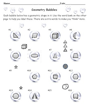 Geometry Bubbles