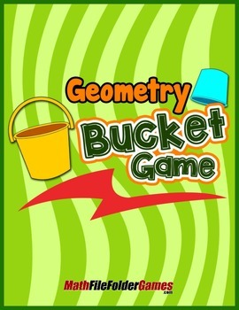Geometry Bucket Game {Geometry Activity}