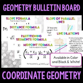 Geometry Bulletin Board:  Coordinate Geometry
