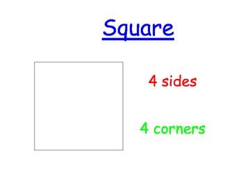 Geometry Bulletin Board Display Set