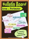 Geometry: Bulletin Board _ Word Wall: Area and Perimeter