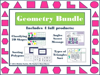 Geometry Bundle 4.6C, 4.6D, 4.7C