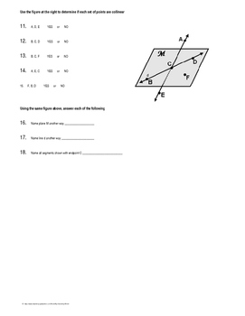 Geometry Bundle: 1st Semester Curriculum