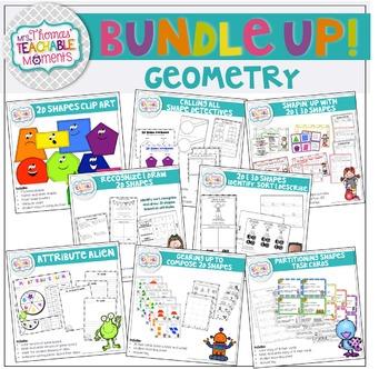 Geometry Bundle - 2D and 3D Shapes