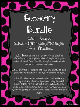 Geometry Bundle : 2.G.1, 2.G.2, and 2.G.3