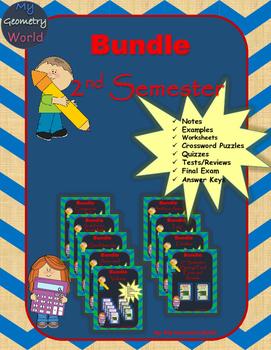 Geometry Bundle: 2nd Semester Curriculum