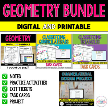 Geometry Bundle {5th Grade - 5.G.3 and 5.G.4}