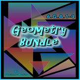 Geometry Bundle: 6.G.A.1-4