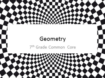Geometry Bundle - 7th Grade Common Core