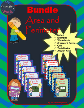 Geometry Bundle: Area and Perimeter