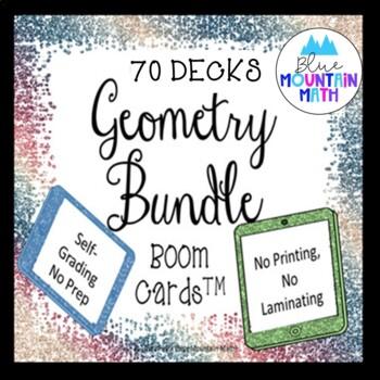 Geometry Bundle Boom Cards--Digital Task Cards