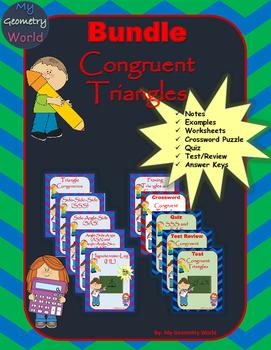 Geometry Bundle: Congruent Triangles