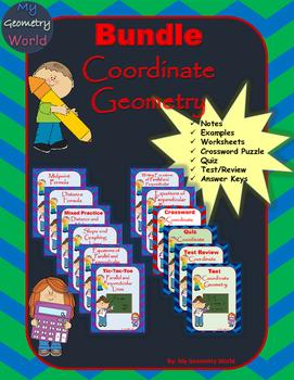 Geometry Bundle: Coordinate Geometry