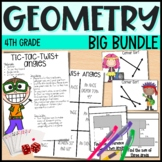 Geometry Bundle - Everything But the Dice - 4th Grade