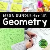 Geometry Bundle GROWING, High School Resources