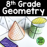 Geometry Bundle, 8th Grade or Pre-Geometry