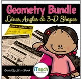 Geometry Bundle: Lines, Angles, 3D Shapes