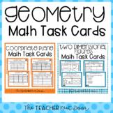 5th Grade Geometry Bundle Task Cards | 5th Grade Geometry Centers