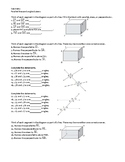 Geometry Bundle -- Parallel lines and the angles formed by a transversal