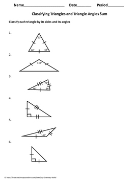 Geometry Bundle: Properties of Triangles