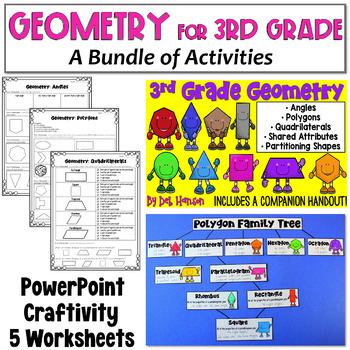 Geometry Bundle for 3rd Grade