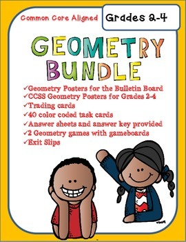 Geometry Bundle for Grades 2-4