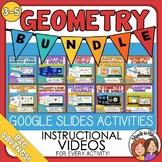 Geometry Bundle of Google Slides Digital Activities