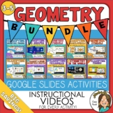 Geometry Bundle of Google Slides Digital Activities