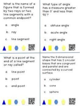 Geometry CCSS: A Grade 4 Vocabulary Tool Kit
