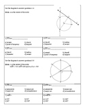Geometry CIrcle Unit Test