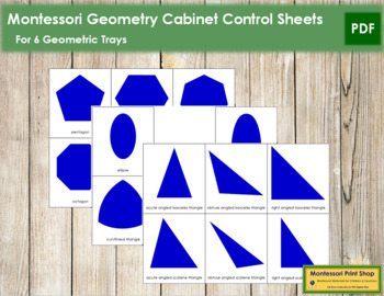 Geometry Cabinet Control Sheets