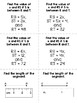 Geometry - Calculating Linear Measure - Set of 12 Task Cards w/ Answer Key