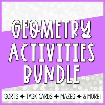Geometry Card Sorts BUNDLE