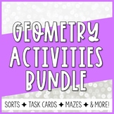 Geometry Card Sorts BUNDLE