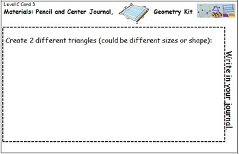 Geometry Center Cards C