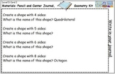 Geometry Center Cards D
