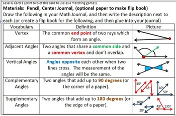 Geometry Center Cards G